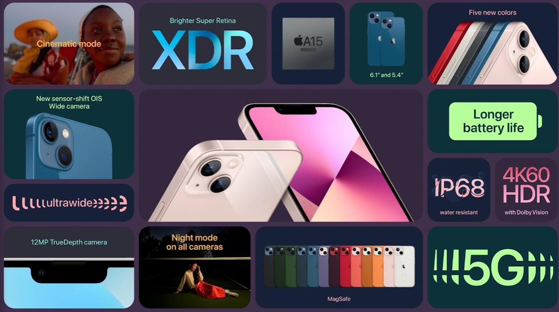 Apple presenta el iPhone 13: Especificaciones y precios 44