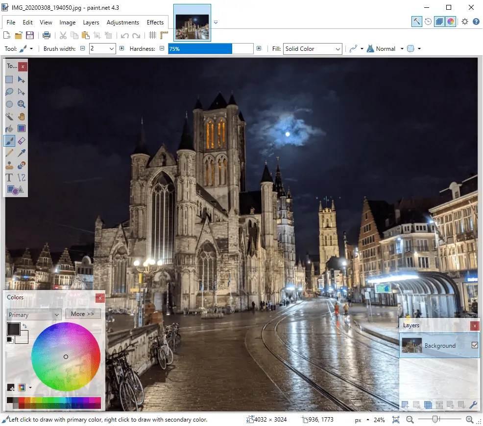 Paint.net 4.3