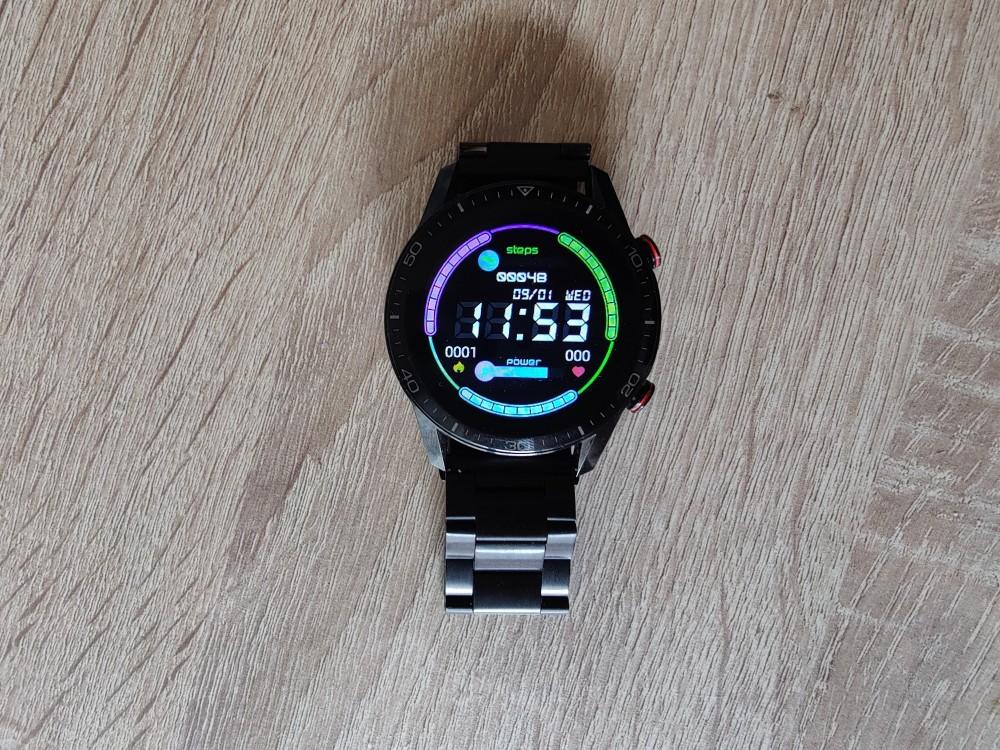 Smartwatch Radiant Las Vegas Premium y Le Baron, análisis 32