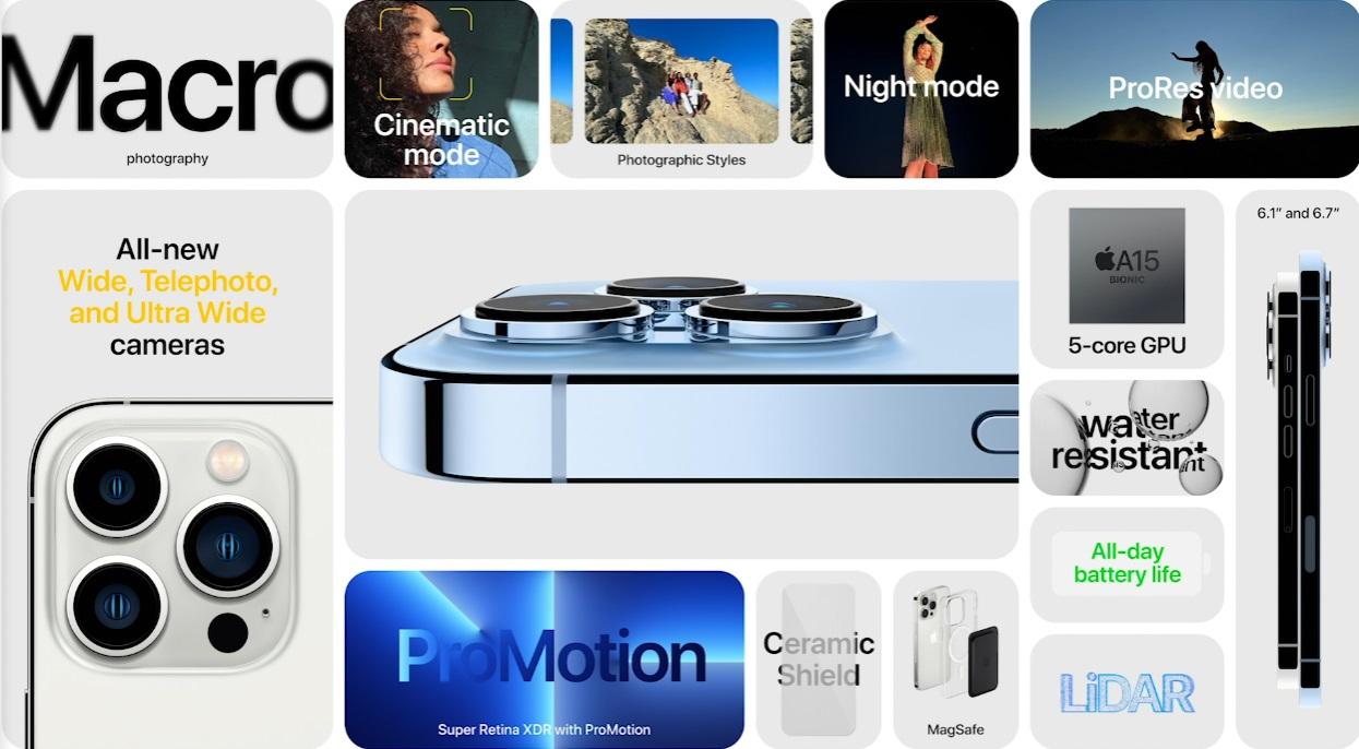 Apple presenta el iPhone 13: Especificaciones y precios 53