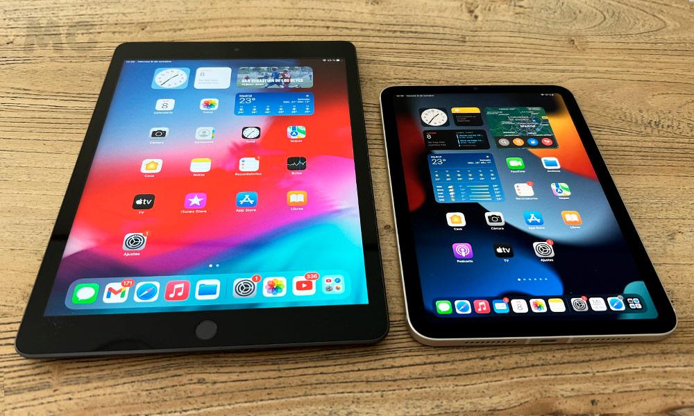 iPad mini 2021 vs iPad 2021