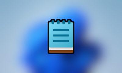 Bloc de notas de Windows 11