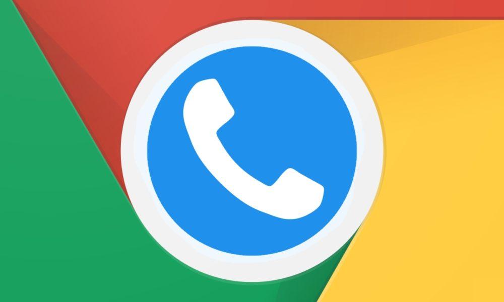El soporte para responder llamadas desde Chromebook está en camino