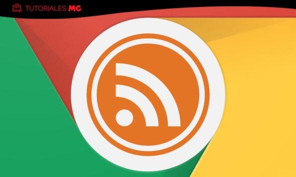 RSS en Chrome