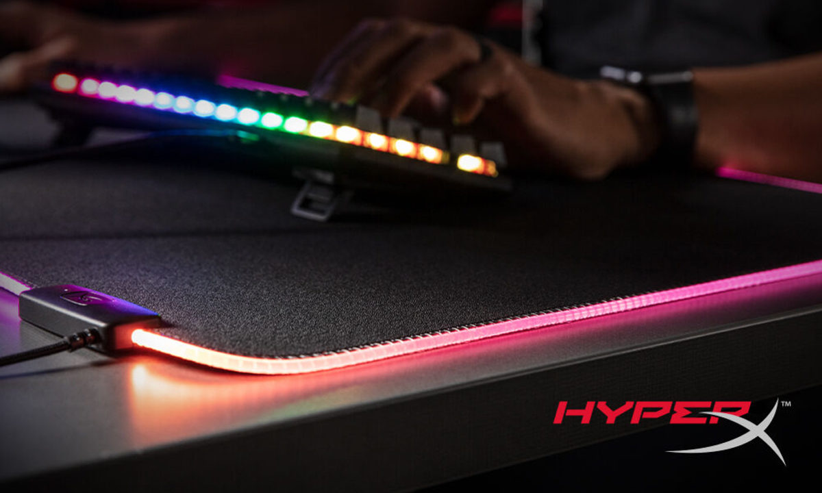 HyperX Pulsefire Mat RGB alfombrilla gaming pc
