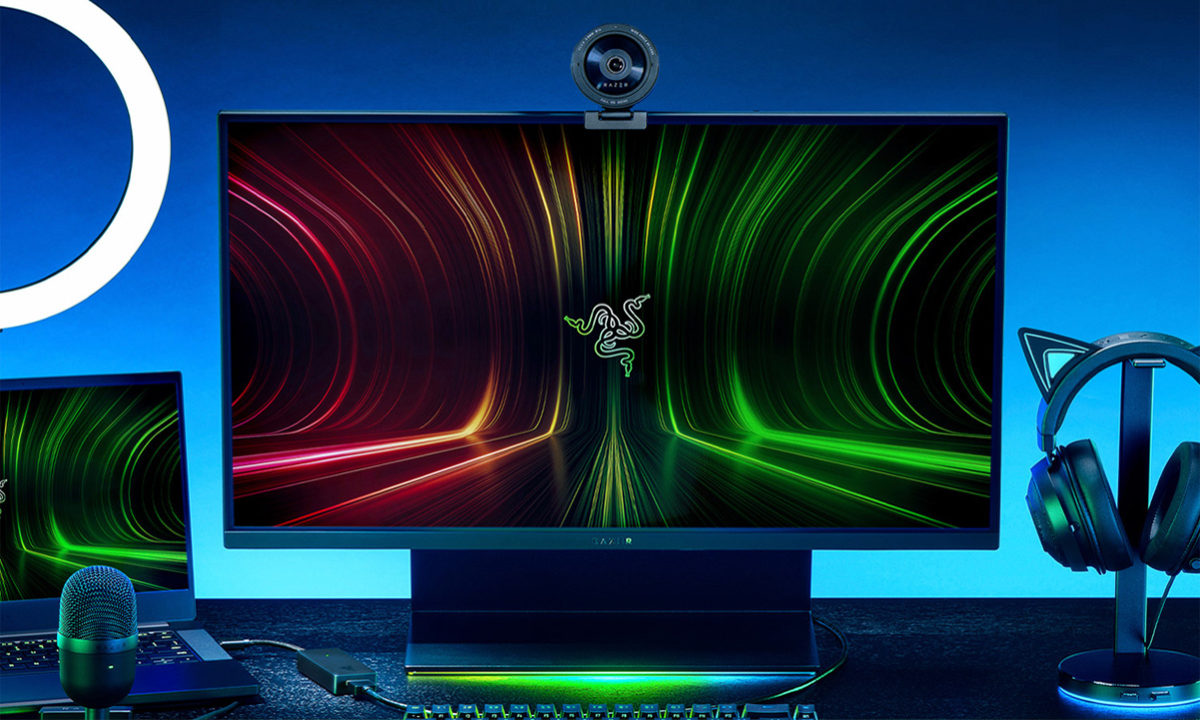 Razer Kiyo X y Ripsaw X streaming nivel de entrada