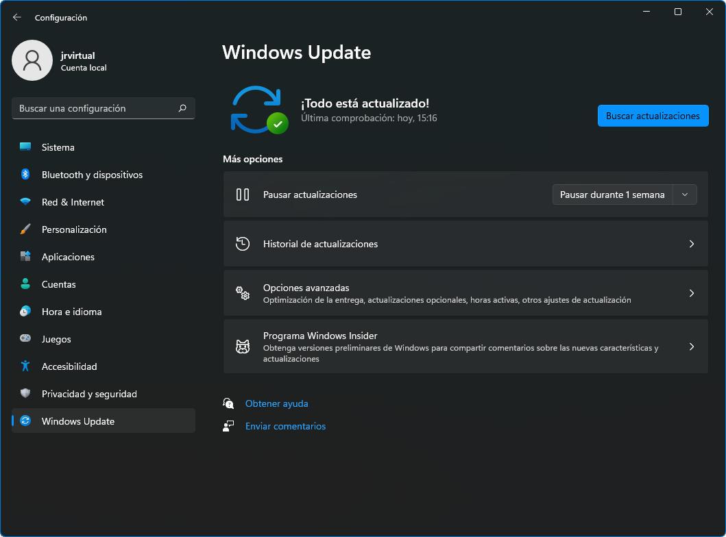 volver a Windows 10