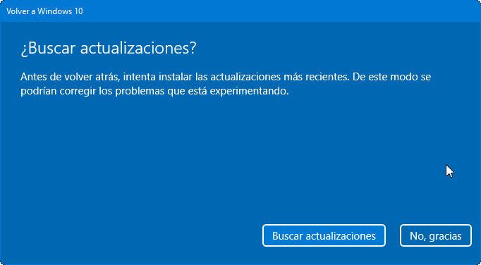 Cómo volver a Windows 10 si Windows 11 no es lo que esperabas 35