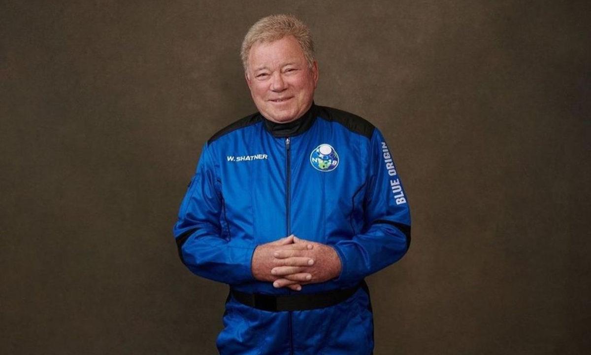 William Shatner viaja al espacio Blue Origin New Shepard