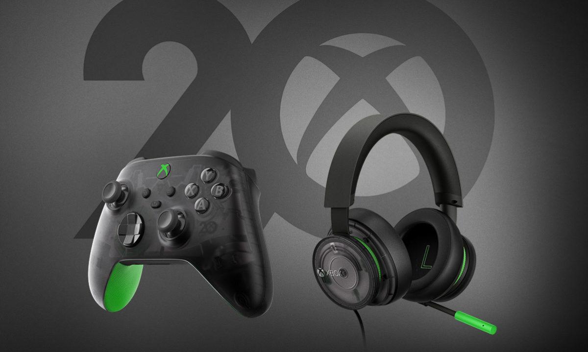 Xbox 20 aniversario periféricos y accesorios
